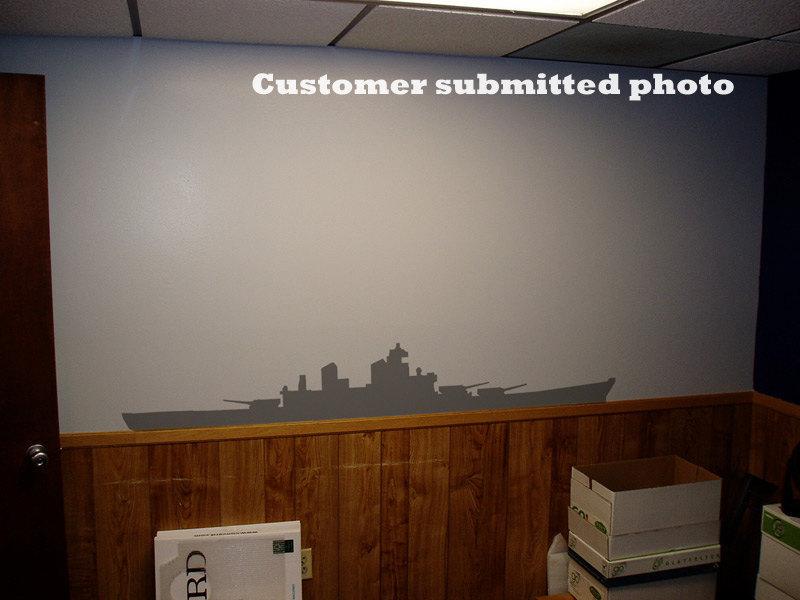 You Sank My Battleship - Vinyl Wall Art
