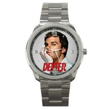 Dexter Tv Show Custom Sport Metal Men Watch  - $15.00