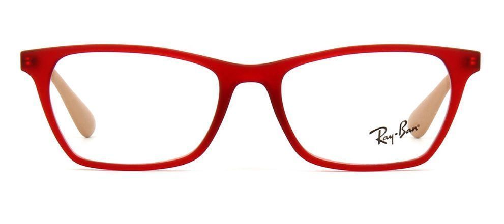 adae4a75928 Ray Ban Rb 7053 5525 Red Eyeglasses 52mm - and 50 similar items. 57