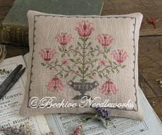 Martha Tizwell's Tulips cross stitch chart Beehive Needleworks