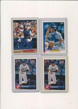 1992 1993 Fleer Donruss Score Mike Piazza Dodgers Lot of 4 - $2.44