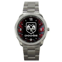 NEW Dodge Car Logo Custom Sport Metal Men Watch  - $15.00