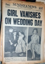 Daily News -New York Picture  Newspaper February 23, 1958 - $4.90