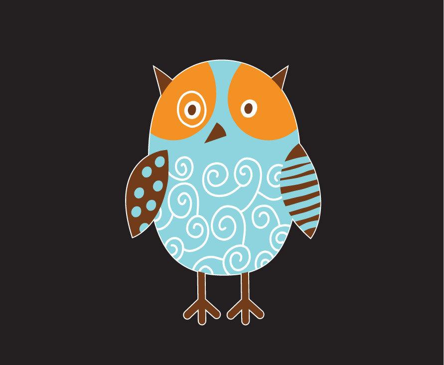 Artsy Owl Vinyl Laptop Art
