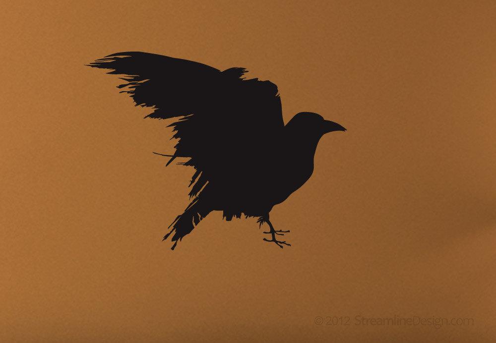Raven Vinyl Wall Art