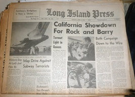 Long Island Press Newspaper Tuesday June 2, 1964 - $4.90