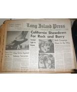 Long Island Press Newspaper Tuesday June 2, 1964 - $4.90