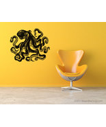 Giant octopus vinyl wall art. 54 inches wide - $36.95