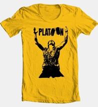 Platoon movie T-shirt vintage 1980s classic movie 100% cotton graphic tee image 2