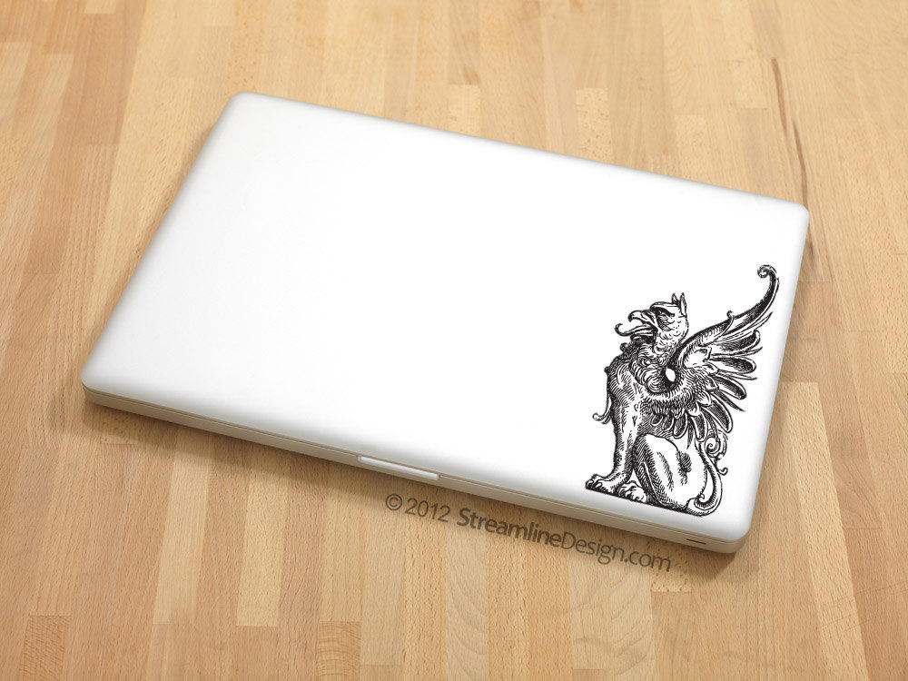 Griffin Vinyl Laptop Art
