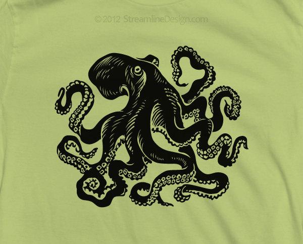 Giant Octopus T-Shirt