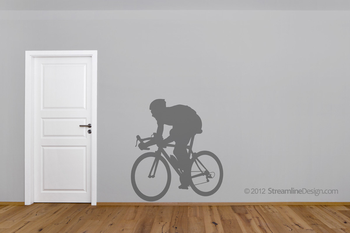 Vinyl Wall Art Decor For the Bicycle Enthusiast