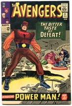 The Avengers #21 1965- Power Man- Marvel Silver Age FN+ - $63.05