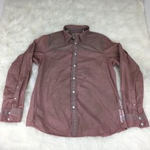 Guess Los Angeles Men's Large Button Down Long Sleeve Shirt - $14.83