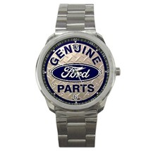 Ford Car Logo Custom Sport Metal Men Watch  - $15.00