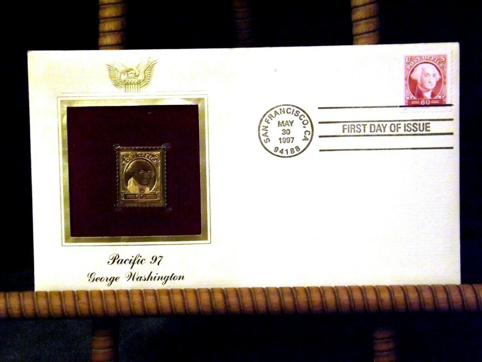 Pacific 97 George Washington Stamp 1997 AA19-ST6024