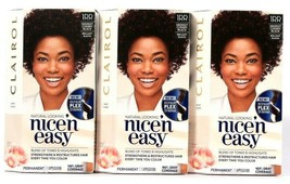 3 Boxes Clairol Nice N Easy 1RR Deepest Cherry Black Permanent Hair Color  - $26.99