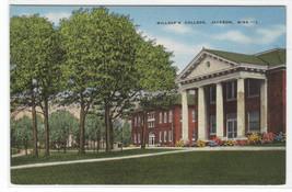 Millsap College Jackson Mississippi linen postcard - $5.94
