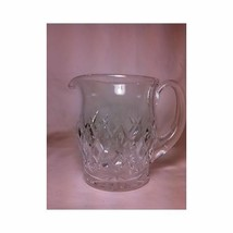 Vintage Waterford Lismore Cut Crystal Water Juice Pitcher with Ice Lip Mint - $120.44
