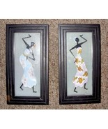 Shadowbox African Dancer Wall Hangings (Set of Two) - $12.00