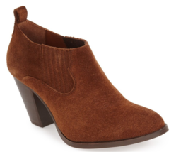 Frye Ilana Slip-On Bootie Size 6.5 Cashew ✨RT $278 - $137.61