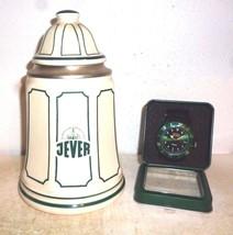 Brauhaus Jever Lidded German Beer Stein & Jever Wrist Watch - $49.95