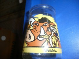 "Welch's Disney Lion King Ii Simba's Pride 4"" Jelly Glass #2 - $9.89"