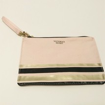 Victoria Secret Pink Makeup Bag Cosmetic Clutch - $9.49