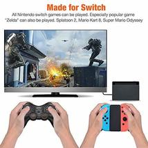 BEBONCOOL Wireless Controller for Nintendo Switch Remote Pro Controller Orange A image 2