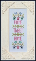 Home Tweet Home spring cross stitch chart Country Cottage Needleworks - $5.40