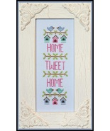 Home Tweet Home spring cross stitch chart Count... - $5.40