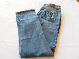 Arizona Jeans Co Bambina Ragazzi Pantaloni Denim Taglia 18 1/2 Forti Blu Guc - $18.72