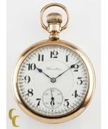 Hamilton Open Face Gold Filled Antique Pocket Watch Grade 992 16S 21 Jewel - $692.69