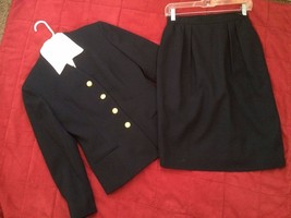 Saville Women's Suit Petite Career Dress Skirt 100% Wool Lined Size 6P - $35.52
