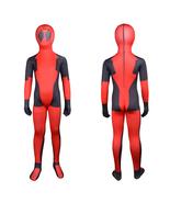 Deadpool Costume Zentai Superhero Costume Cosplay Full Body For Kids - $37.65