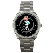 Invader Zim Custom Sport Metal Men Watch  - $15.00