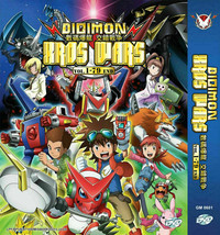 Digimon Xros Wars Vol. 1 - 79 End Anime DVD with English Subtitle Ship From USA