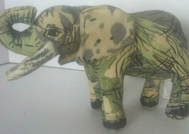 "Vintage Russ Berrie Plush Elephant Stuffed Animal Toy 7"" - $9.90"