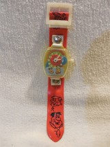 Flintstones 1979 Plastic & Vinyl Mechanical Windup Watch w/Fred, Barney ... - $14.95