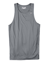 E4 Gravel gris Sma N9138 New Balance Men Tempo Running Singlet Muscle To... - $4.00