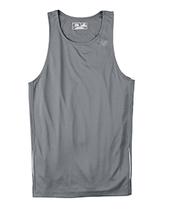 E4 Gravel gris Sma N9138 New Balance Men Tempo Running Singlet Muscle To... - $4.00