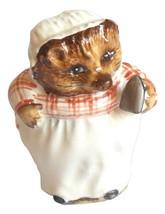 Beatrix Potter Beswick Vintage Mrs Tiggy Winkle Hedgehog Holding Iron Fi... - $27.95