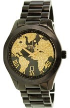 Michael Kors MK6091 Layton World Atlas Pave Dial SS Quartz Ladies Watch - $115.00