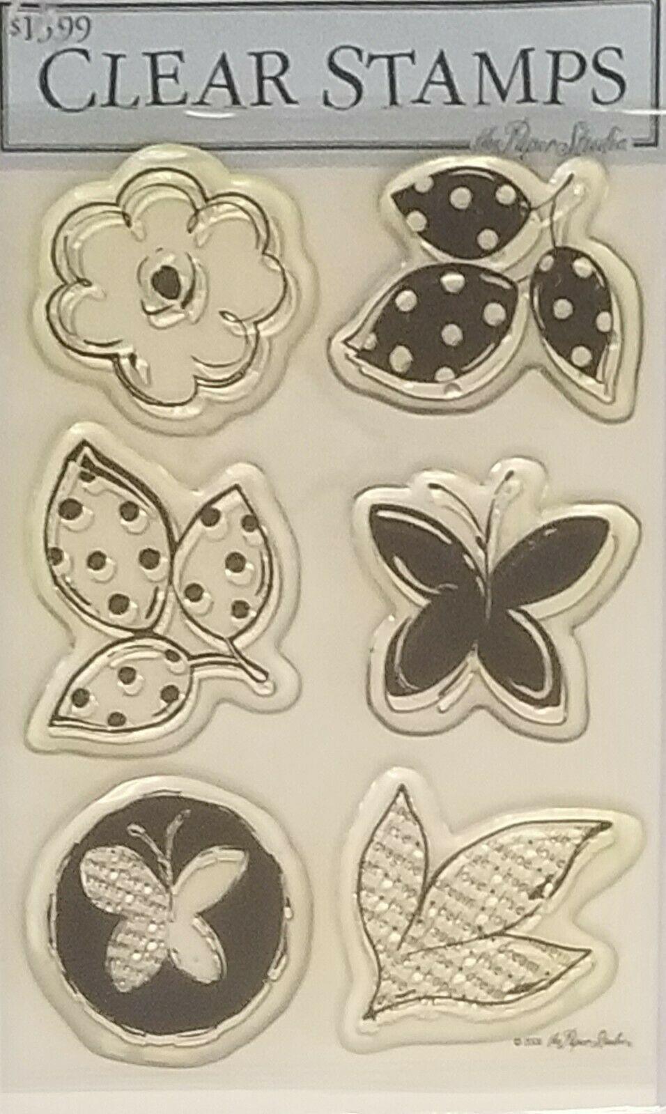 Stampabilities Mod Garden Stamp Set