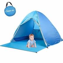 Pop Up Baby Beach Tent Easy Portable Sun Shelter UV Protection Cabana Au... - $55.41 CAD