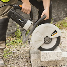 Electric Concrete Saw Portable Cutter Circular Cut Corded Blade Brick Masonry - $350.45