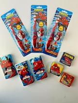 Lot of 9 New, 3 each: Spiderman Toothbrushes, Magic Towels, Individual Tissues - $14.73
