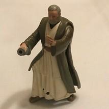 Obi Wan Kenobi Electronic Power FX Action Figure Star Wars Hasbro 1996 T... - $2.87