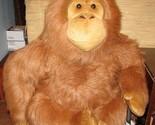 """45"""" Aurora ORANGUTAN JUMBO Monkey Plush Gorilla Ape Stuffed Animal Over 3 Feet - ₹18,485.51 INR"""