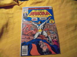 "TOMB OF DRACULA # 63 * FN * 1977 * ""The Road To Hell!"" * Marvel * Gene C... - $9.00"